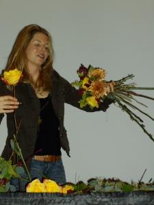 Sarah Von Pollaro, floral designer, Urban Petals